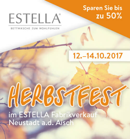 Estella Feiert Den Herbst Outletmeile